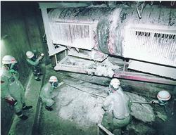 もんじゅのナトリウム漏れ事故