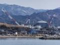 大間港から見た大間原発