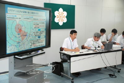 原子力災害時の医療機関