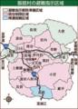 飯舘村の避難指示区域