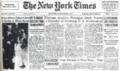 1971年6月13日、ニューヨーク・タイムズ紙