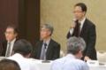 福島県内の自治体関係者との会合