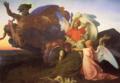 カバネル「モーゼの死」