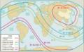 中国 戦略ミサイルの射程範囲