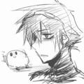 [落書き][版権]カービィと鬱っぽい艦長