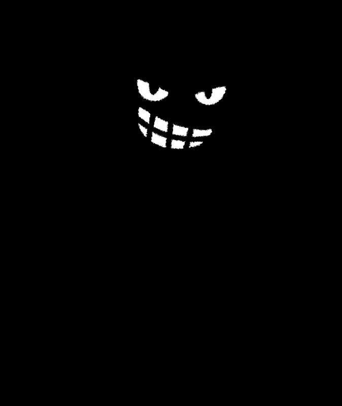 悪人のイラスト