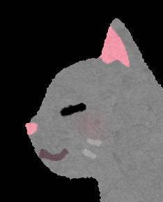 猫の鼻のイラスト