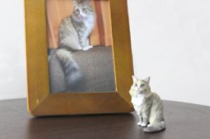猫のフィギュア4