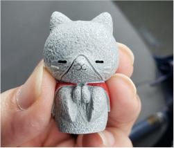 ネコのキャラのフィギュアの写真