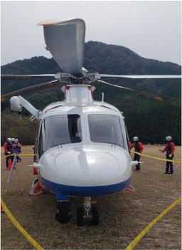 防災ヘリの写真2
