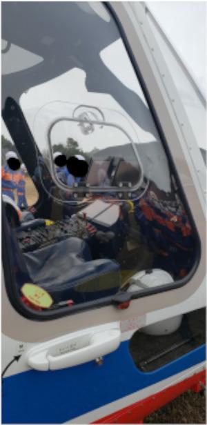 防災ヘリの写真3