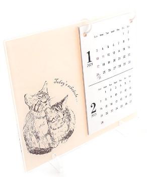 オリジナル卓上カレンダーの画像
