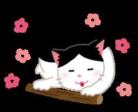 猫にまたたびのイラスト