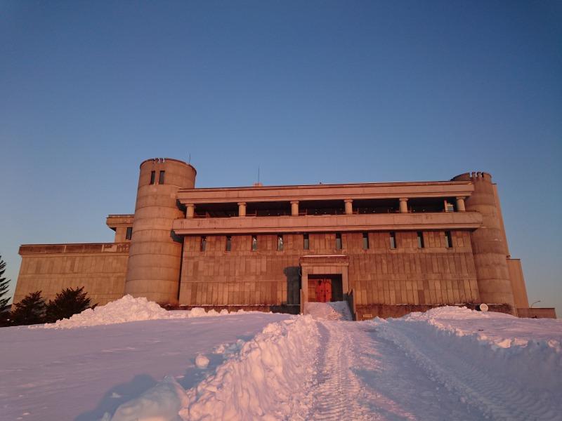 夕陽に染まるワイン城,池田陽地域おこし協力隊blog