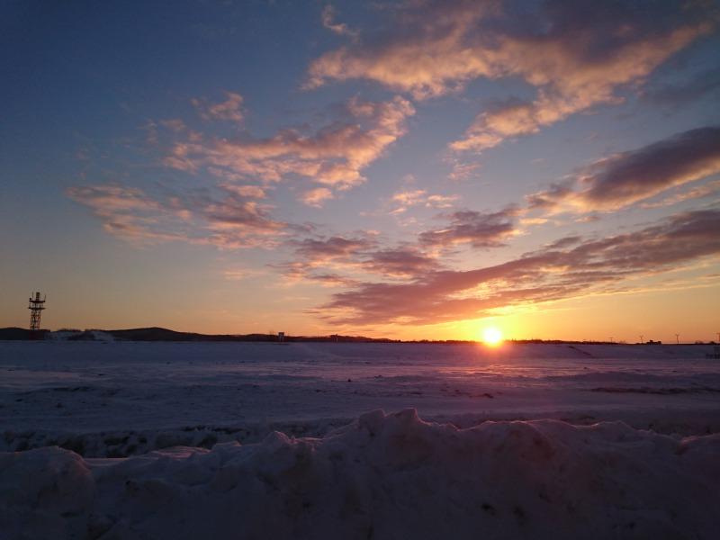 夕陽じゃなくて朝日,池田町地域おこし協力隊blog