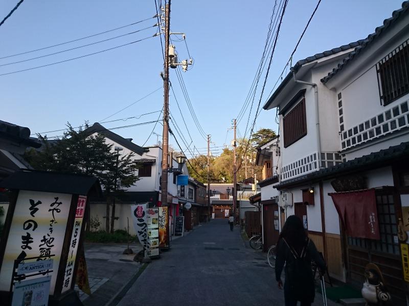 美観地区入口,池田町地域おこし協力隊blog