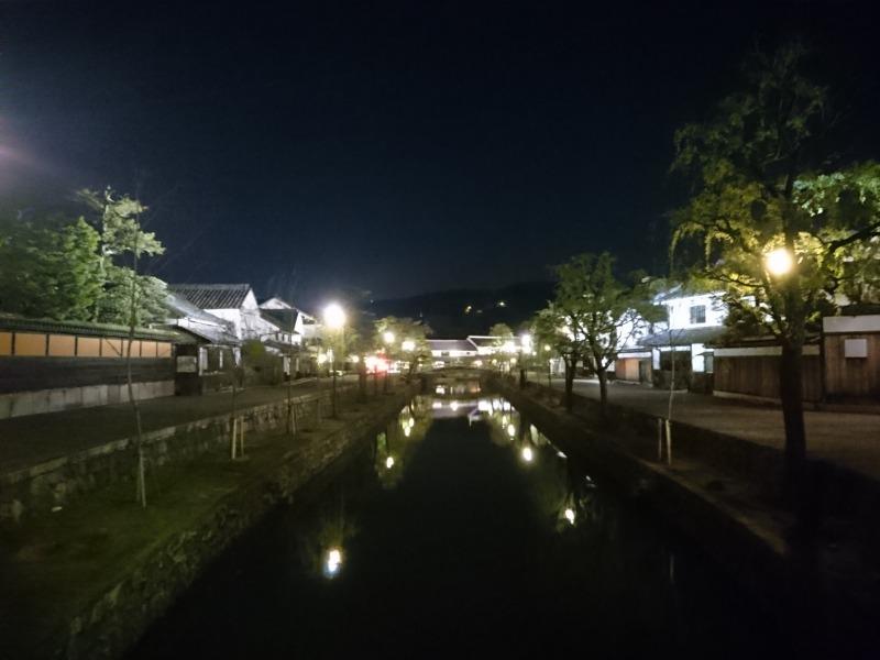 夜の美観地区,池田町地域おこし協力隊blog