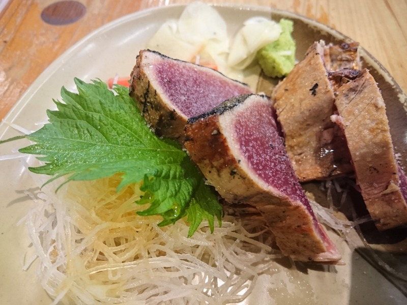 カツオ塩たたき,池田町地域おこし協力隊blog