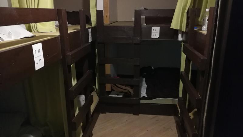 アサヒカワライド 男性部屋