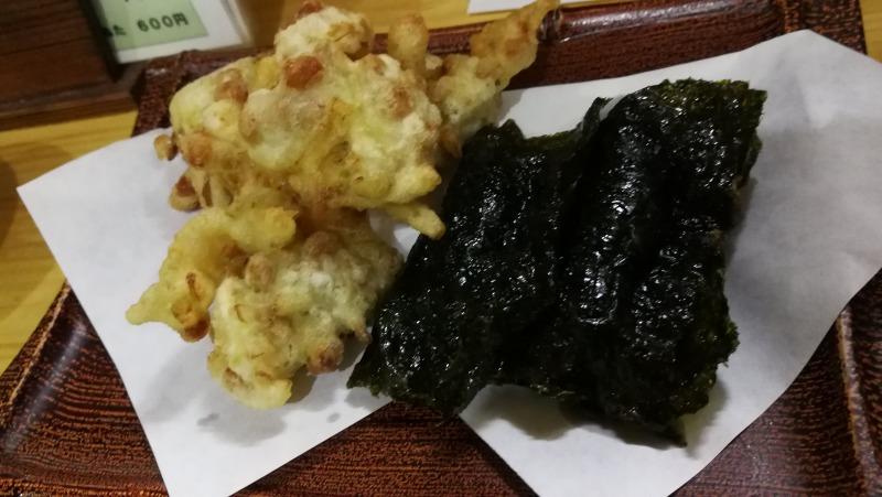 小五郎 納豆の天ぷら