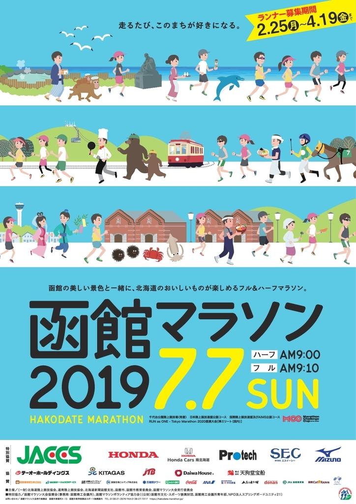 2019函館マラソンポスター