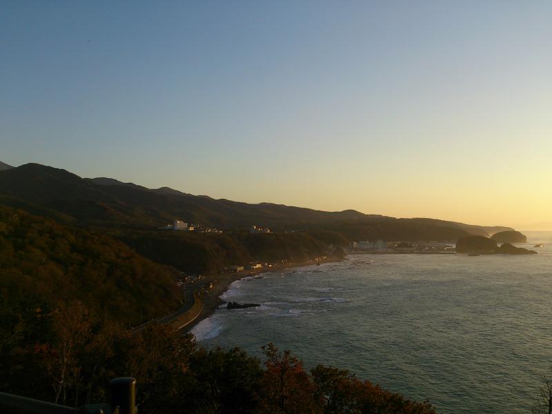 知床のプユニ岬からの景色