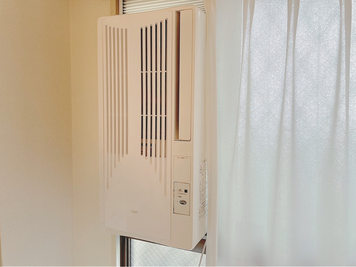 窓用エアコン