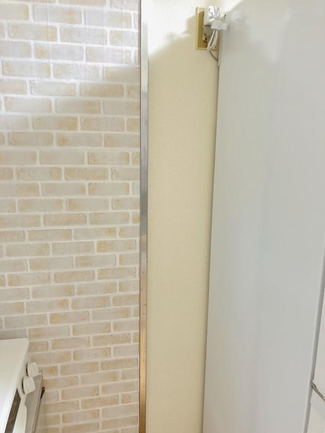 冷蔵庫横掃除