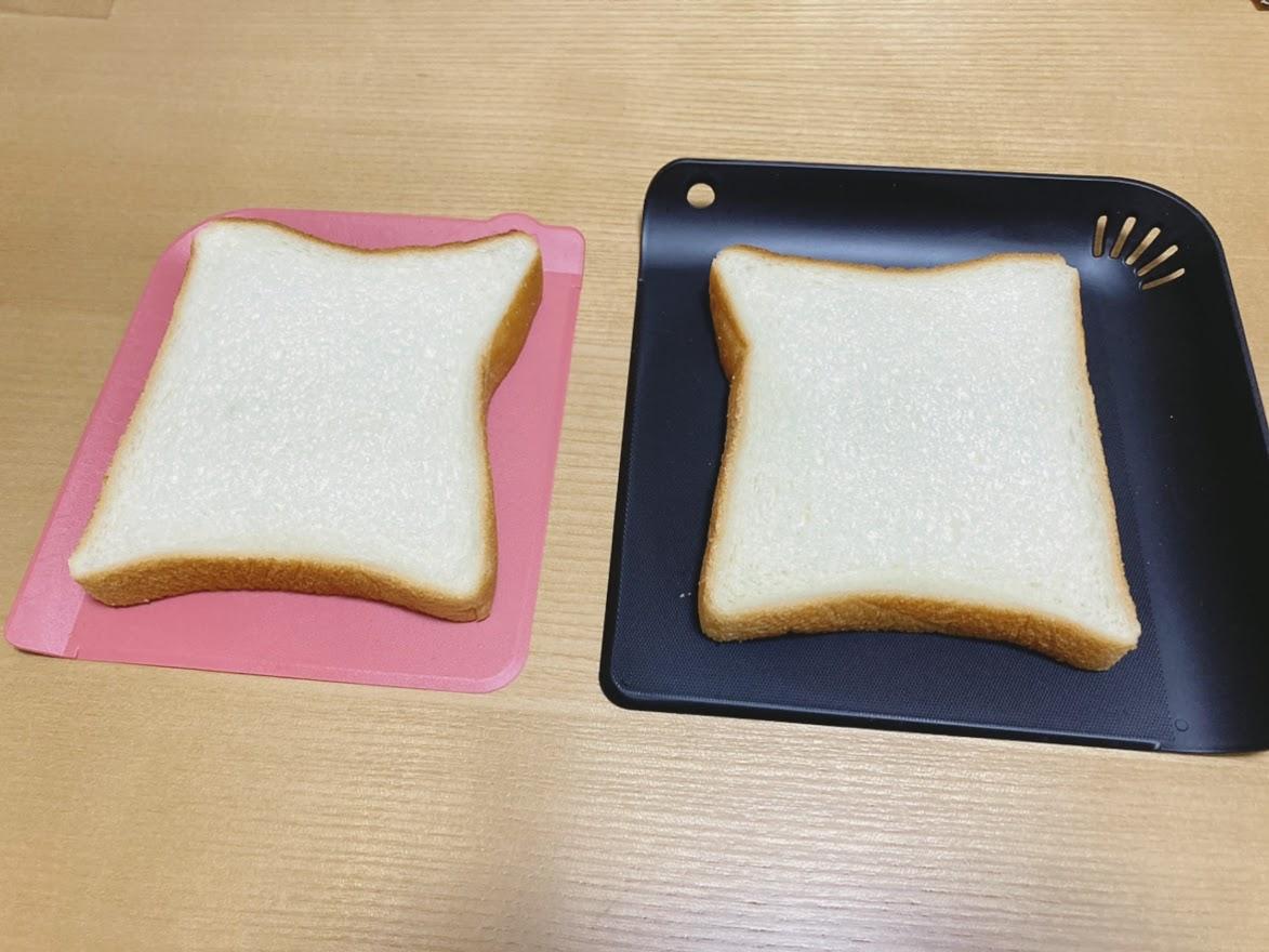 食パンを乗せてみた