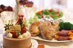 冬太りの原因:クリスマスパーティー