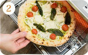 森山ナポリ、冷凍ピザの食べ方_2