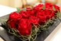 [花]バラ「ヴァニティルージュ」のアレンジメント