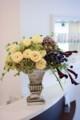 [花]バラ「オール4ロマン」の生け込み
