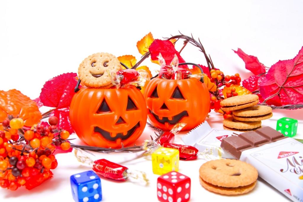 ハロウィンとお菓子