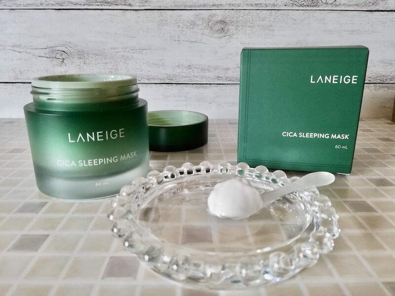 LANEIGE(ラネージュ)のシカスリーピングマスク。使い方はクリームと同じです