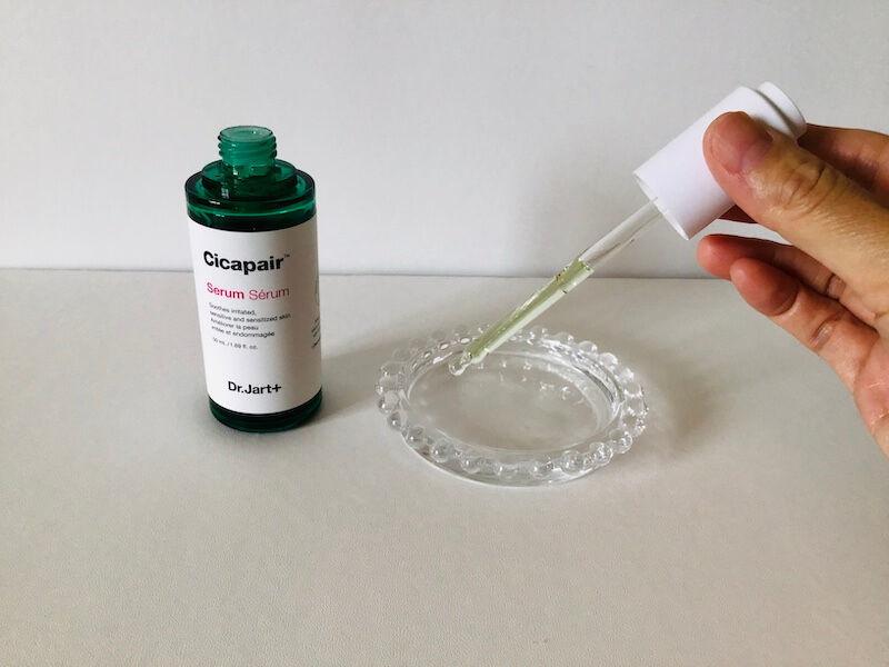 シカアンプルおすすめ:Dr.Jartのシカペアセラム。保湿力もあって使いやすい