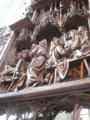 教会の木彫りのレリーフ SUGEEEEEEE