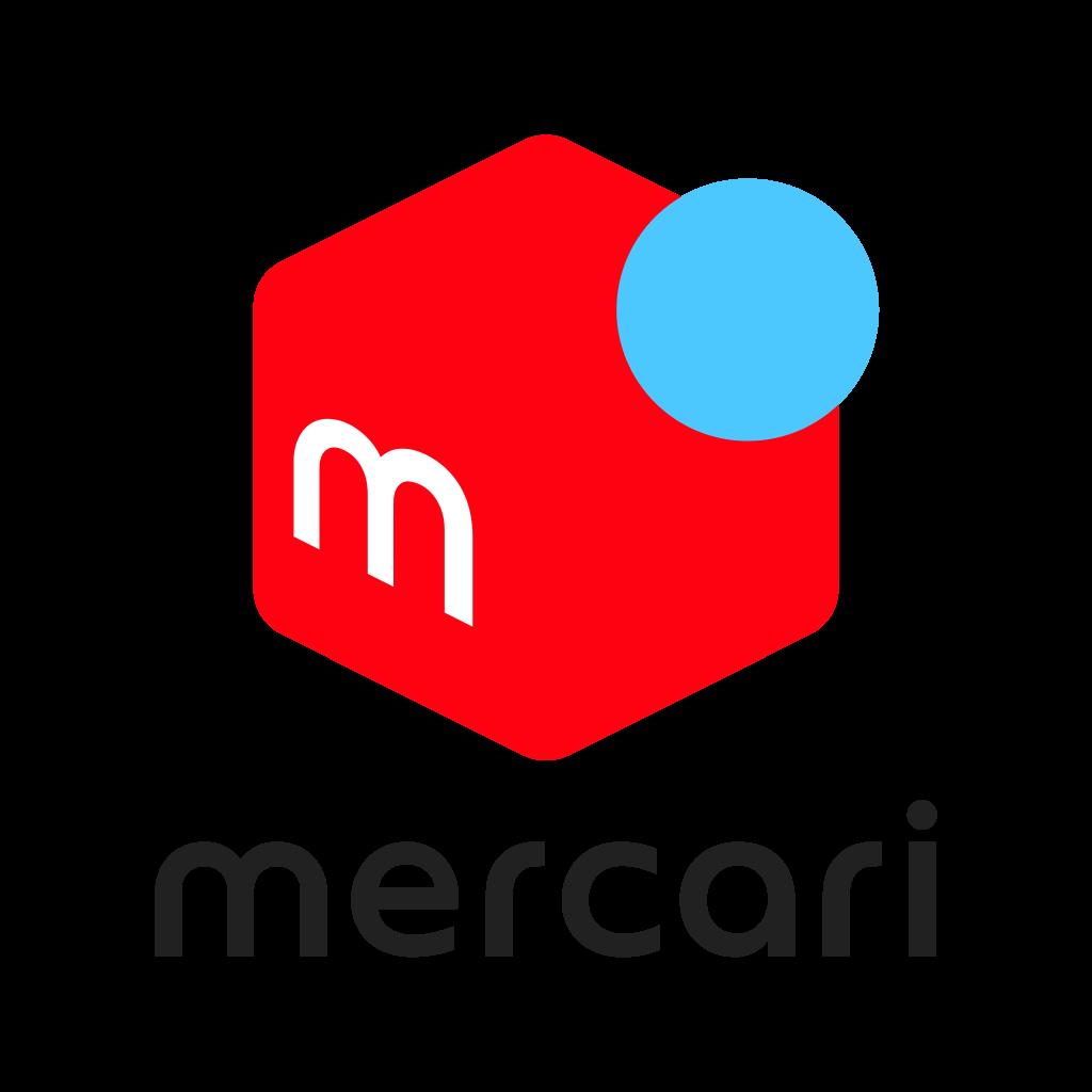 フリマアプリのメルカリのロゴ