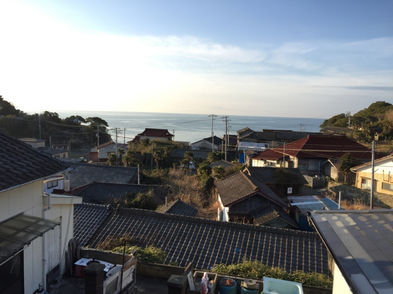 田代島の朝