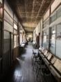 [旧木沢小学校][廃校]1階廊下