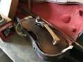 [旧木沢小学校][廃校]古いバイオリン