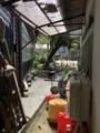 [旧木沢小学校][廃校]体育館帰る途中