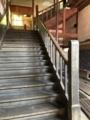 [旧木沢小学校][廃校]西階段