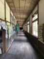 [旧木沢小学校][廃校]2階の廊下