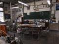 [旧木沢小学校][廃校]テレビでお年寄りが入学式してた
