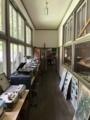 [旧木沢小学校][廃校]音楽室と理科室の廊下