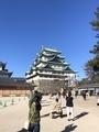 名古屋城!!中には入れなかった