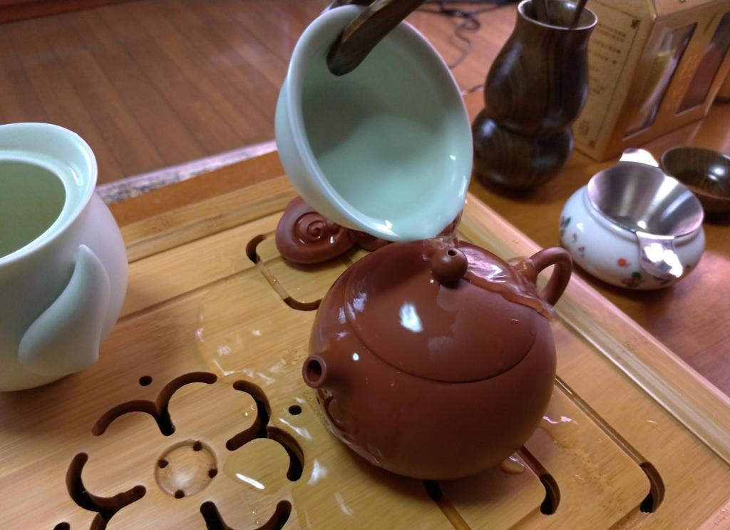 工夫茶7、蒸らし