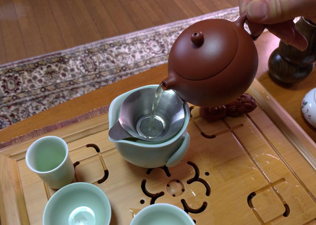 工夫茶9、茶海へ