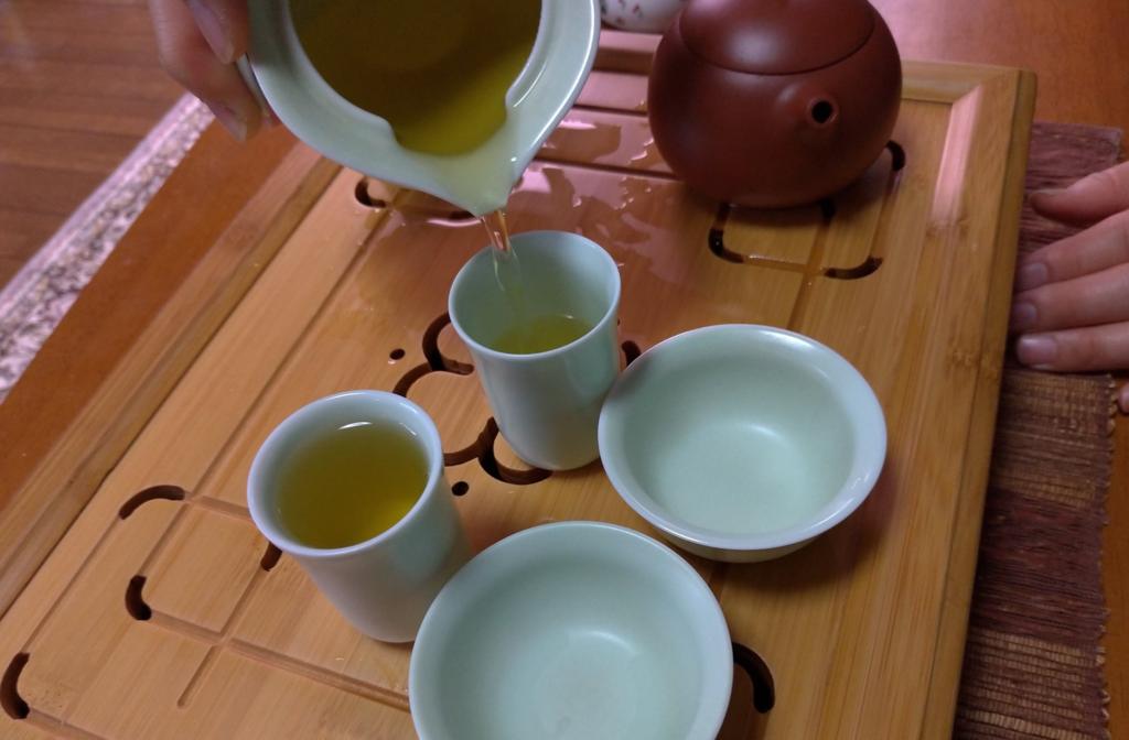 工夫茶10、聞香杯へ